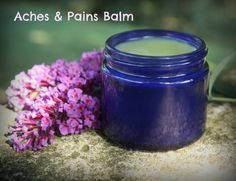 Arthritis Remedies Hands Natural Cures - Recipe for Aches and Pains Balm made with arnica, comfrey, and essential oils — a soothing, natural remedy for arthritis and other joint/muscle ailments Arthritis Remedies Hands Natural Cures Natural Remedies For Arthritis, Natural Health Remedies, Natural Cures, Natural Healing, Herbal Remedies, Home Remedies, Natural Medicine, Herbal Medicine, Tiger Balm
