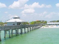 Ft Meyers Beach FL.. this pier is where I caught my very first fish! :)