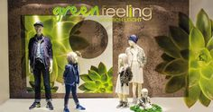 """L + T, Osnabruck, Germany, """"Green has a strong emotional correspondence with safety"""", pinned by Ton van der Veer"""