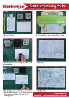 Welkom bij Jannie van der Zwan: Inkleuren Picture embossing folders