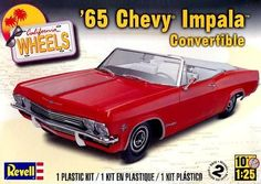 1965 Chevy Impala Convertible Model Kit