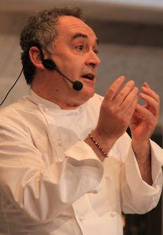 Ferran Adrià at the Fórum Gastronómico Santiago 2010, Santiago de Compostela, Galicia. Photo by Gerry Dawes©2013. Contact gerrydawes@aol.com for publication rights.