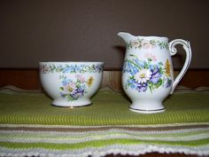 Hey, I found this really awesome Etsy listing at https://www.etsy.com/listing/90461460/vintage-roslyn-china-garland-creamer-and