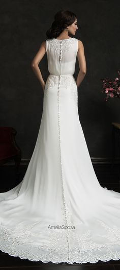 Amelia Sposa 2015 Wedding Dress - Tereza
