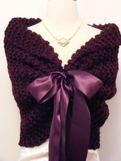 Hey, I found this really awesome Etsy listing at https://www.etsy.com/listing/162783294/wedding-shawl-wedding-cape-purple-shawl