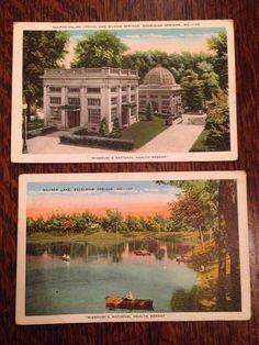 Excelsior Springs Missouri Health Resort by burlapvintagekc Excelsior Springs, Siloam Springs, National Health, Historical Photos, Missouri, Postcards, Scene, History, Live