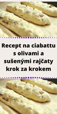 Ciabatta, Pizza, Food And Drink, Bread, Homemade, Vegetables, Cooking, Ethnic Recipes, Kitchen