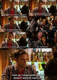 Hart of Dixie - - Wade and Lavon Hart Of Dixie Wade, Zoe And Wade, Tv Show Quotes, Movie Quotes, Whats On Tv Tonight, Wade Kinsella, Wilson Bethel, Red Band Society, Grey Anatomy Quotes