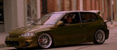 """Deep dive: Hector's Honda Civic from """"The Fast and the Furious"""" - The Car Gossip Honda Civic Hatchback, Nissan S15, Civic Eg, Eco Friendly Cars, Honda City, The Furious, Japan Cars, Car Colors, Import Cars"""