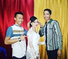 Haha.... kapan lg bs toyor pala manten. @fachri_oy #wedding #togetherness #friendship #family #bestFriend #Silaturahmi