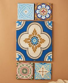 The 5-Pc. Canvas Set instantly makes a statement in any room. Each piece features a beautiful, coordinating print that updates the look of your living space. Ha