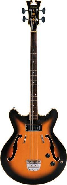 Late-'60s STANDEL 400S. (via Vintage Guitar. Photo: Bill Ingalls. Instrument courtesy of Robert Graupera)