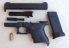 Glock 30 (.45 ACP) broken down