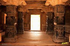 Hazara Rama temple in Hampi, Ballari district, Karnataka, India #IncredibleIndia #Travel #India #Karnataka #WorldHeritage