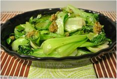 Crispy Roasted Baby Bok Choy Recipe | Nosh My Way