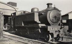 NORTHERN COUNTIES COMMITTEE - 114 - Ballycastle Railway 4-4-2T - built 1908 by Kitson & Co. as BR No.4 - 1924 to LMS NCC as No.114 - 1927 rebuilt - 1942 withdrawn. Old Steam Train, Steam Locomotive, Belfast, Model Trains, Gauges, Ireland, Irish, Coast, Trains
