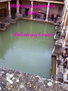 """delivering grace: History explored in Bath - I feel like Buddy the Elf """"I know him!"""""""
