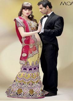 Diamond lehenga Saree with Semi Stitched Blouse http://www.angelnx.com/Sarees/