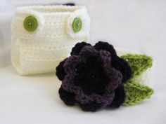 CROCHET PATTERN Flower Diaper Cover & by YarnBlossomBoutique, $4.99