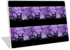 Purple and Black Pattern | Design available for PC Laptop, MacBook Air, MacBook Pro, & MacBook Retina.