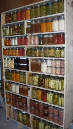 How To: Cabinet For Storing Canned Goods or Heavy Items - Survivalist Forum