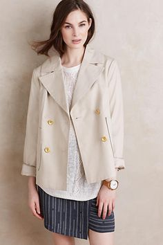 Anthropologie ivory trench coat: http://www.stylemepretty.com/living/2016/03/24/the-cutest-spring-coats-at-every-price/