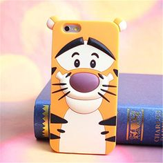 Lovestal Cute Cartoon 3D Disney Monster University Animals Soft Silicone Back Cases Covers for Apple iPhone 5 5G 5S (The Jump Tigger) Lovestal http://www.amazon.com/dp/B00J4IQ4RW/ref=cm_sw_r_pi_dp_apr6ub0N9CGX3