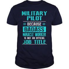 Military pilot - Tshirt