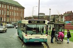 Arriva bus company Dart 1685 in Corporation Street, Derby, December 1997 Derby County, Royal Crown Derby, Bus Coach, City Aesthetic, Peak District, Busses, Derbyshire, Coaches, Rolls Royce