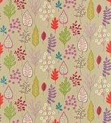 Zosa - Harlequin Fabrics - Stylised decorative flowers, leaves and ferns on an open-spaced background. Shown in the Biscuit, Ruby, Peony, Zest colourway. Please request sample for true colour match. Harlequin Fabrics, Harlequin Wallpaper, Pattern Wallpaper, Textures Patterns, Fabric Patterns, Fabric Design, Pattern Design, Made To Measure Curtains, Textiles