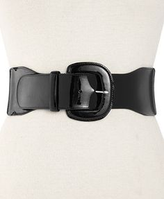 Lauren Ralph Lauren Belt, Patent Tab Stretch Belt