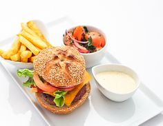 This is where I am going for burgers on Thursday night... Saints Burger Joint, Kloof Street.