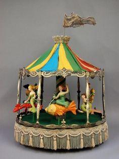 Nancy Wiley Mermaid Carousel