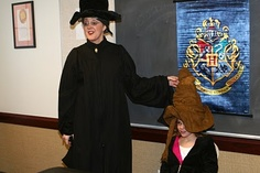Harry Potter Sorting Hat Ceremony.  Harry Potter Party.