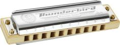 Hohner Inc. M2011BXL-BF Marine Band Thunderbird Harmonica, Bb by Hohner Inc, USA. $127.25. How low can you go? The Thunderbird, the latest addition to the legendary Marine Band product line, creates a new benchmark for low and super low diatonic harmonicas by incorporating: Special new reed profiles for fast response and high volume even at an extremely low pitch Patented triple laminated and layered bamboo comb construction Conical lower cover design by Joe Filisco prevents r...