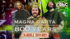 Horrible Histories Song - Magna Carta 800 Years - CBBC
