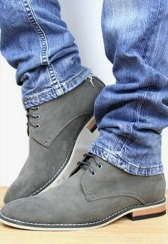 5011f88717 Beautiful Sneakers Online Suede Leather Shoes, Suede Boots Men, Suede  Chukka Boots, Brown