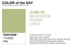 02/06/2016.- ...y el color de hoy es Nilo, un color negociador, inteligente, animado. Más info en http://www.pyma.com/tutoriales-y-trucos/y-los-colores-pantone-de-esta-semana-sonsemana-del-30-de-mayo-al-5-de-junio/