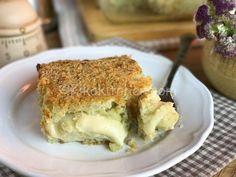 Sformato di cavolfiore e patate, gratinato in forno   Kikakitchen Fett, Lasagna, Ethnic Recipes, Book, Lasagne