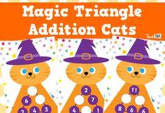 Magic Triangles - Addition to 20