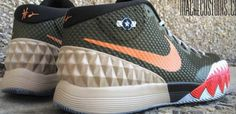 Nike Kyrie 1 Warhawk Custom by Mache Customs