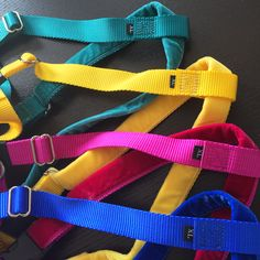 Obsessed with these new Freedom No-Pull (dog) Harness summer colors! | #ColossusCanine #DogProducts #Just4Giants | http://colossuscanine.ca/products/freedom-no-pull-harness