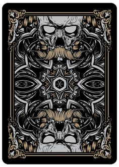 054 - Playing Card Exploration by Joshua M. Smith, via Behance
