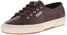 Superga Womens 2750 Fglwembossedcocco Fashion Sneaker Bordeaux 415 EU95 M US ** Be sure to check out this awesome product affiliate link Amazon.com