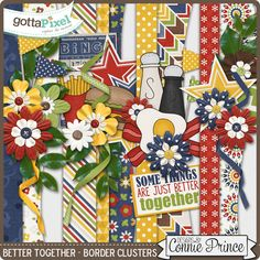 Better Together - Border Clusters from Designs by Connie Prince