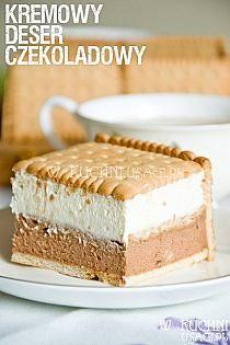 Składniki: 350 ml śmietany 250 g serka mascarpone Baking Recipes, Cake Recipes, Dessert Recipes, Delicious Desserts, Yummy Food, Caking It Up, Dessert Buffet, Polish Recipes, Fancy Cakes