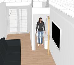 Toilettes sous escaliers recherche google escaliers - Toilette sous escalier ...