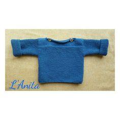 Jersey tejido a mano con lana merino.