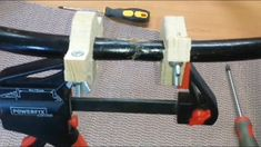 how to make clamp for round wood