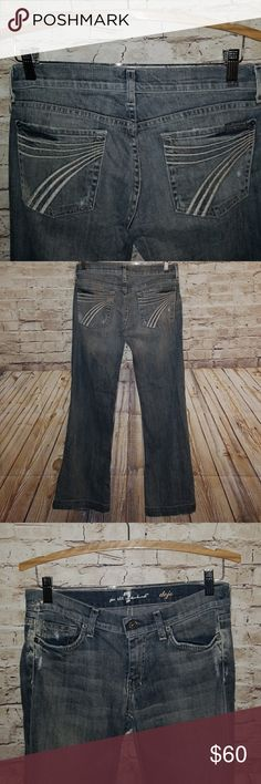 7fb52dc5f19a5 7 for all Mankind DOJO Jeans size 28 Size 28 with an inseam of 30 7